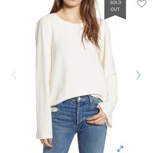 Texture & Thread by Madewell Puff ShoulderTop L